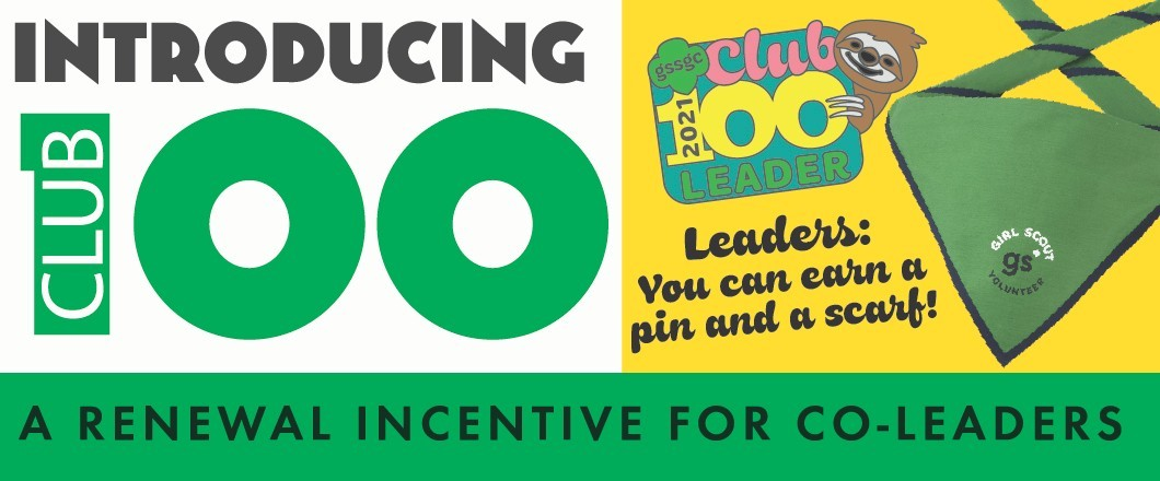 Club 100 Renewal Incentive for Leaders
